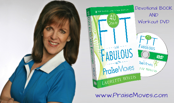 40 days to Fit & Fabulous w/PraiseMoves DVD and Book