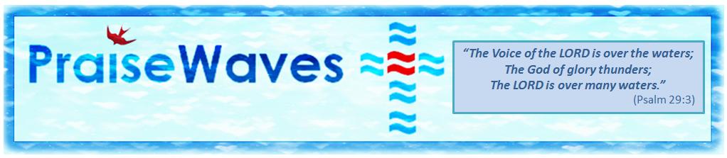 PraiseWAVES logo