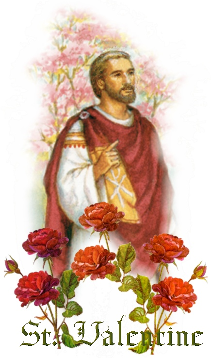 Will You Be My Martyred Saint Valentine PraiseMoves