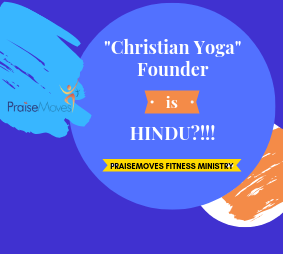 """Christian Yoga"" Founder is HINDU?"