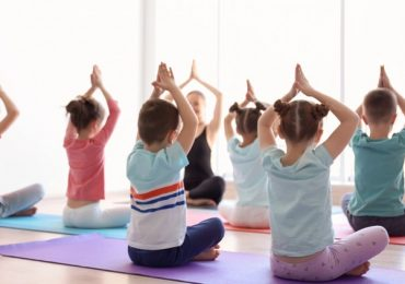 """They are teaching YOGA in my child's school."""