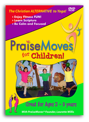 Praise Moves For Children Downloadable MP4s